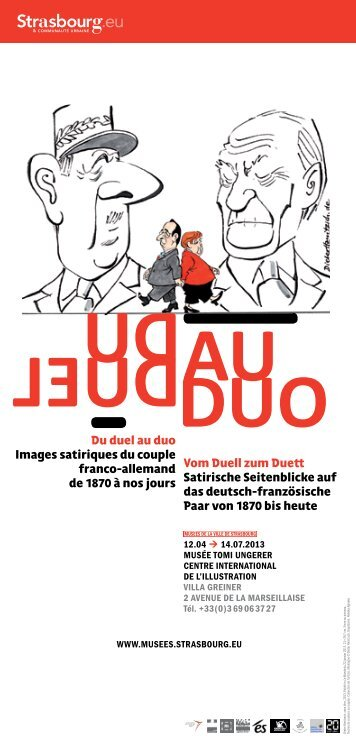 Du duel au duo Images satiriques du couple franco-allemand de ...