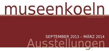 Download pdf (Größe: 1,06 MB) - museenkoeln.de