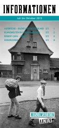 Programmheft 2013/2 - Museumsverein-aachen.de
