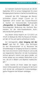 Programmheft 2013/2 - Museumsverein-aachen.de - Seite 3