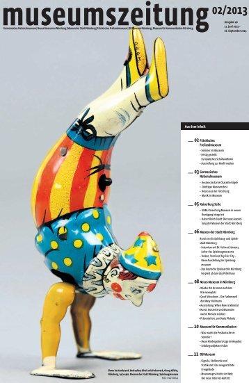 Museumszeitung, Ausgabe 46 vom 11. Juni 2013