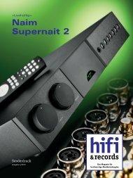 Naim Supernait 2 - music line