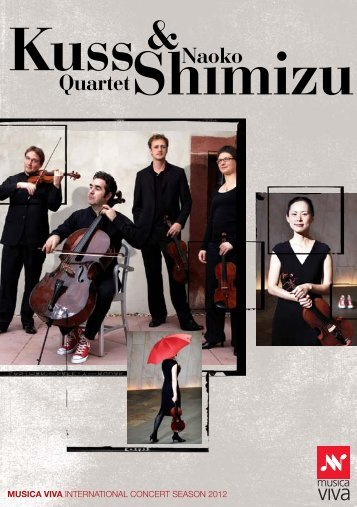 Download the Kuss Quartet & Naoko Shimizu Concert - Musica Viva