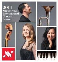 Musica Viva International Concert Season