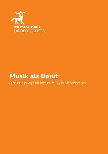 Musik als Beruf - Musikland Niedersachsen