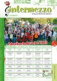 Musikschulwoche 2013 - in der Musikschule Hildesheim