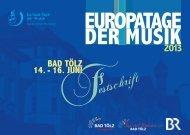 Festschrift - Verband Bayerischer Sing