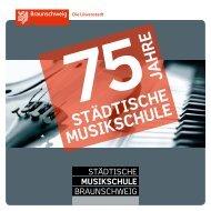 75 Jahre Städtische Musikschule Braunschweig