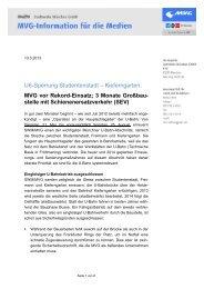 MVG info, Kundenzeitung