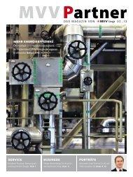 Das magazin von 02_13 SERVICE BUSINESS ... - MVV Energie AG