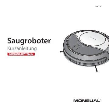 Kurzanleitung - Moneual MR6800M - myRobotcenter