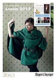 Luxus 2013 - myTamedia