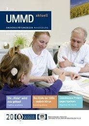UMMD aktuell - Universitätsklinikum Magdeburg - Otto-von-Guericke ...