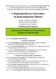 bund für umwelt und naturschutz – landesverband nrw (bund-nw)