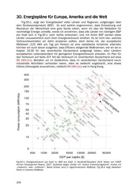 30. Energiepläne für Europa, Amerika und die Welt - Nachhaltige ...