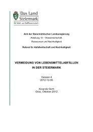 Studie zum Herunterladen - Nachhaltigkeit - Land Steiermark