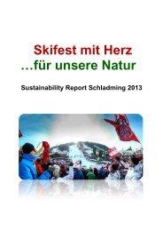 Sustainability Report - Nachhaltigkeit - Steiermark