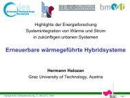 11:10 Erneuerbare wärmegeführte Hybridsysteme - Hermann Halozan