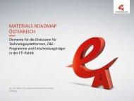 Materials - Roadmap Österreich - NachhaltigWirtschaften.at