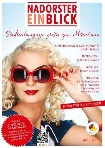 04/2013 als PDF - Nadorster Einblick