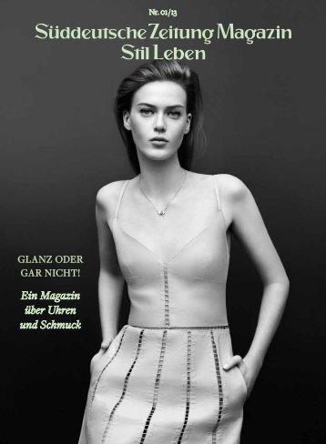 Ein Magazin über Uhren und Schmuck - Nansen & Piccard