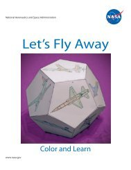Let's Fly Away Airplane Dodecahedron - NASA