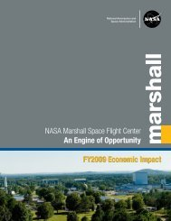 NASA Marshall Space Flight Center An Engine of Opportunity ...
