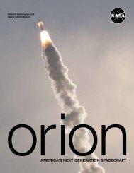 Orion: America's Next Generation Spacecraft (4.7 Mb PDF) - NASA