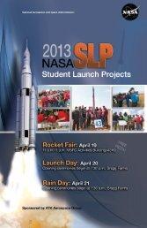 SLP Launch Week Information - NASA