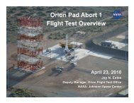 PA1 overview for media FINAL (wo anim slide).pptx - NASA