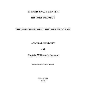 William Fortune - NASA