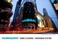 Genium Risk margin system - Nasdaq OMX