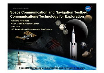 Space Communication and Navigation Testbed ... - NASA