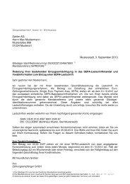 Musteranschreiben Umstellung auf SEPA-Mandat - National-Bank
