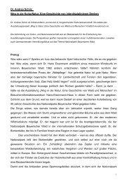 Dr. Andrea Schilz - Nationalpark Bayerischer Wald