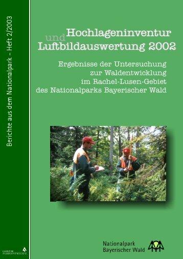 Berichte aus dem Nationalpark - Heft 2/2003
