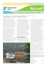 Newsletter Juli 2006 - Nationalpark Eifel