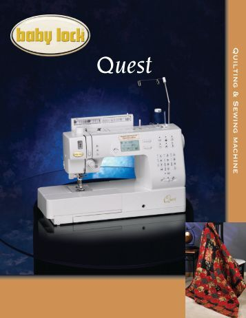 baby lock quilting sewing machine