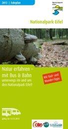 Natur erfahren – mit Bus & Bahn - Nationalpark Eifel