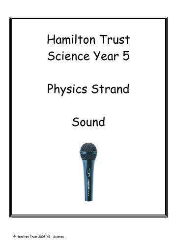 Sound - National STEM Centre