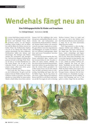 62-63 Wendehals - Natürlich