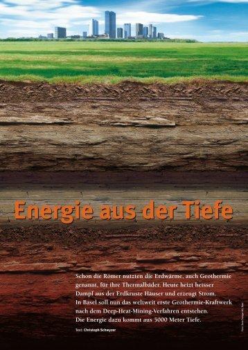 Energie aus der Tiefe - Natürlich