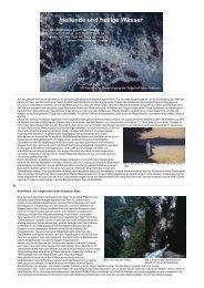 Heilige und heilende Wässer - Natura Naturans