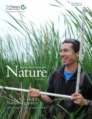 What's Happening Now - The Nature Conservancy