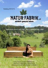 Katalog 2014/15 Naturfabrik Ahorn seit 1992 / Naturmatratzen seit ...