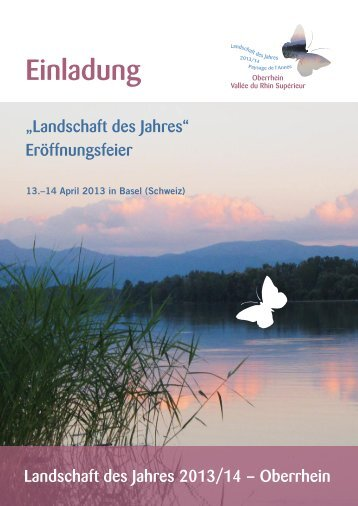 Eröffnungs- Fest am Sa.13.- So. 14.April in Basel