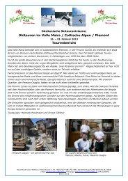 Valle Maira Piemont 2013 Tourenbericht - Naturfreunde