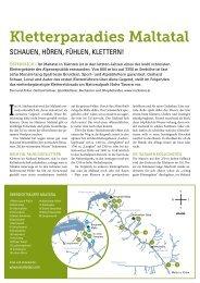 Kletterartikel aus dem Naturfreund 4/2013 zum ... - Naturfreunde