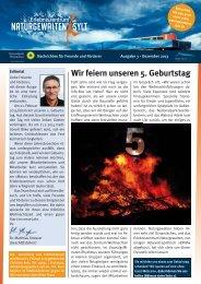 Broschüre 3 Dezember 2013 - Erlebniszentrum Naturgewalten Sylt