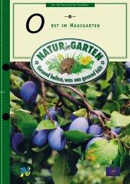 Obst im Hausgarten - Natur im Garten